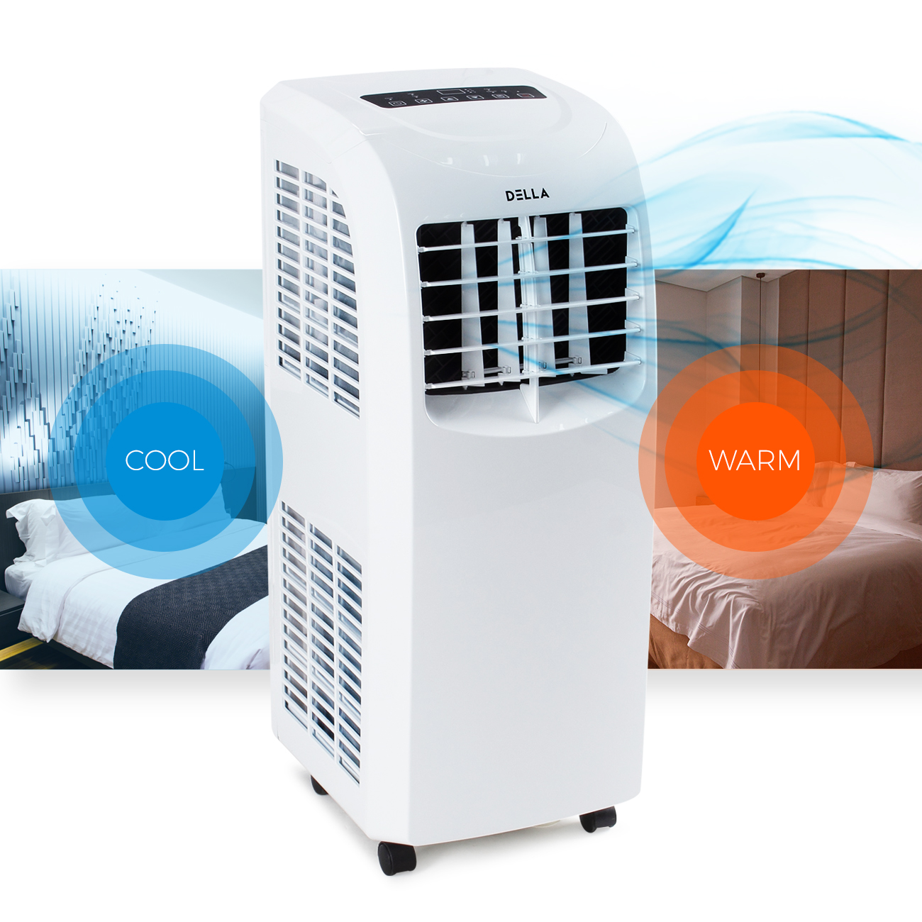 8 000 Btu Portable Air Conditioner Cooling A C Cool Fan