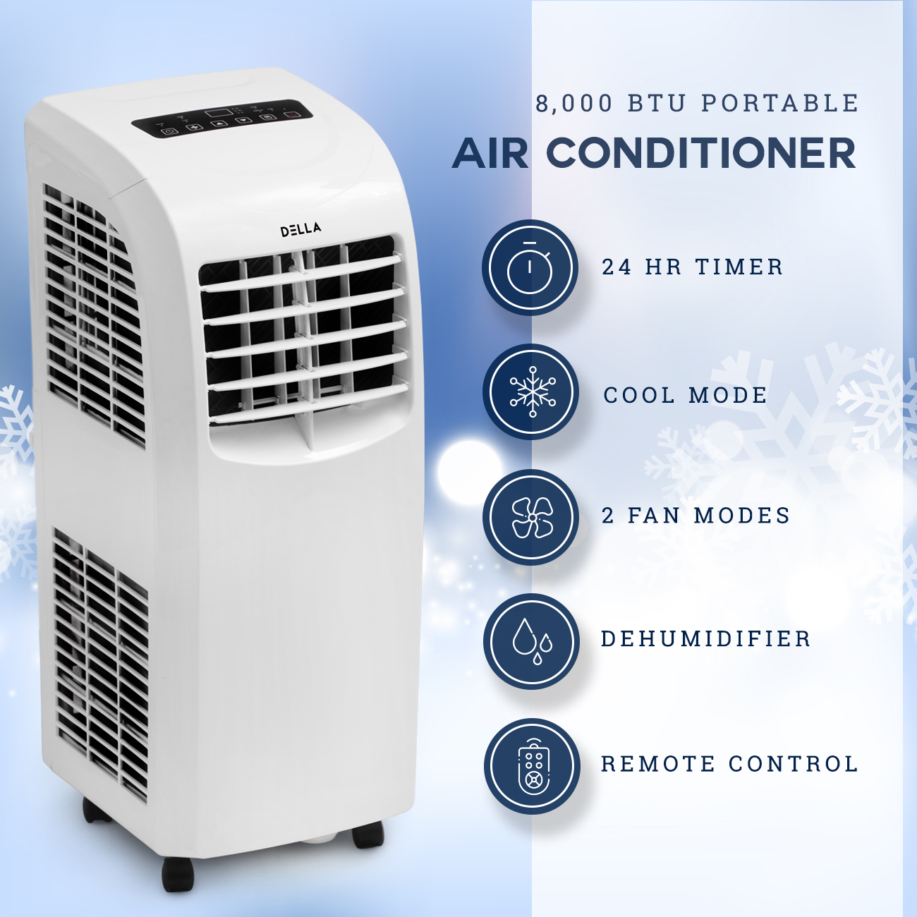 Cooler Air Units : Btu portable air conditioner cooling a c cool fan