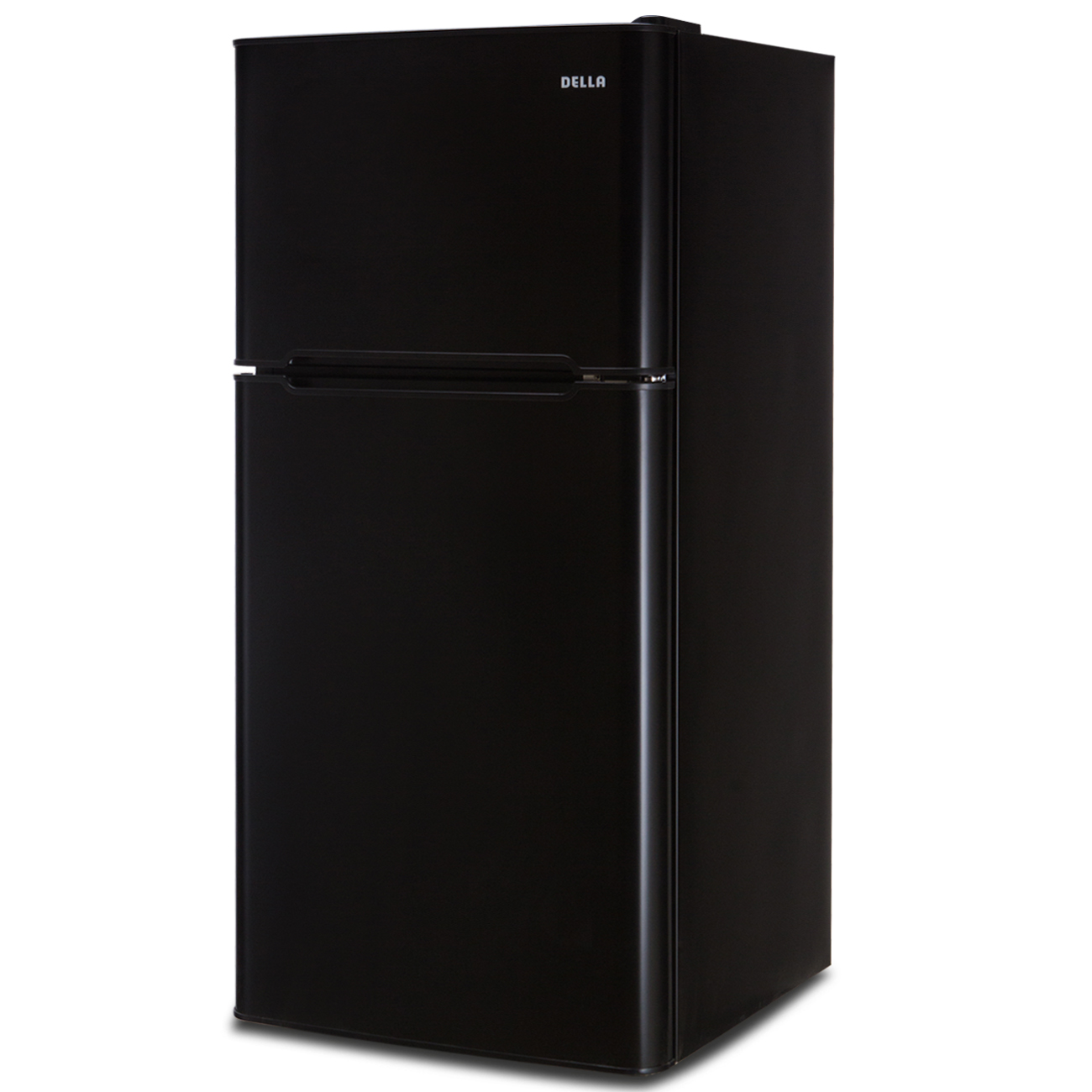4 5 cu ft cubic feet compact double door refrigerator. Black Bedroom Furniture Sets. Home Design Ideas