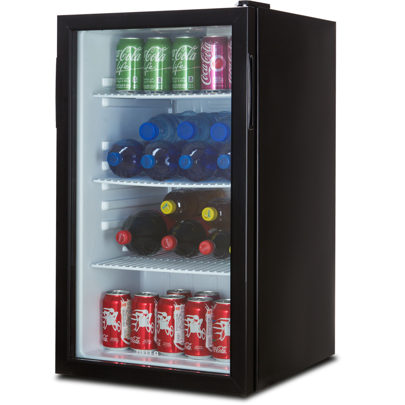 Beverage Wine Cooler Chiller Rack Mini Refrigerator Led