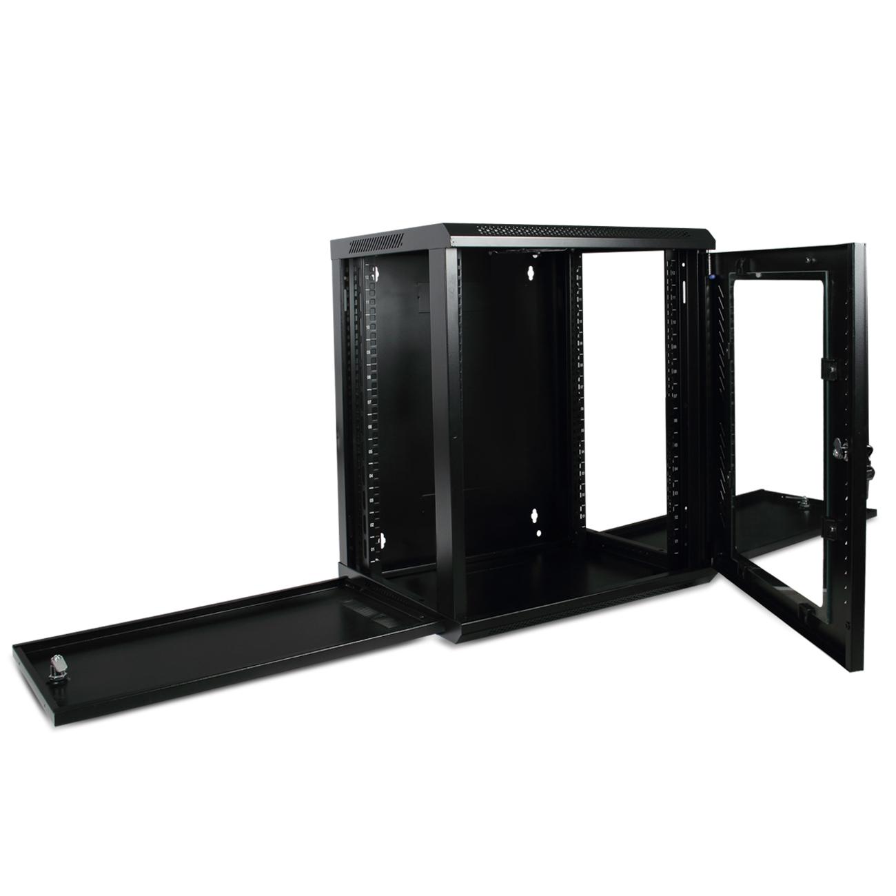 12u Wall Mount Network Equipment Server Data Cabinet Rack