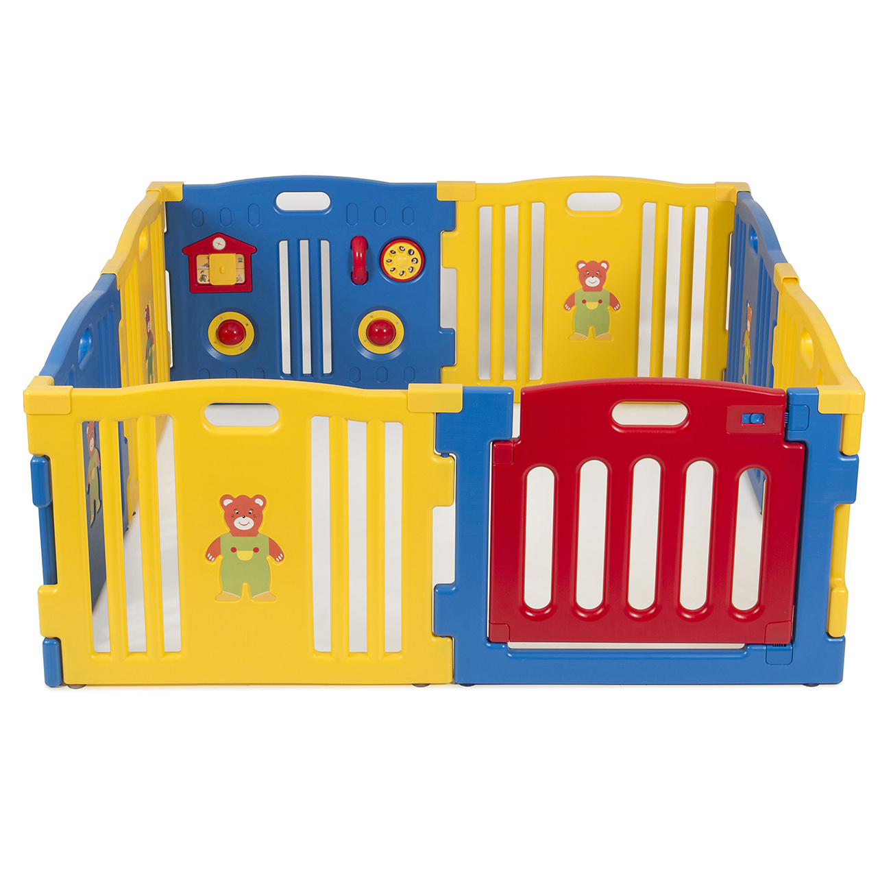 baby playpen kids 8 panel safety play center yard home