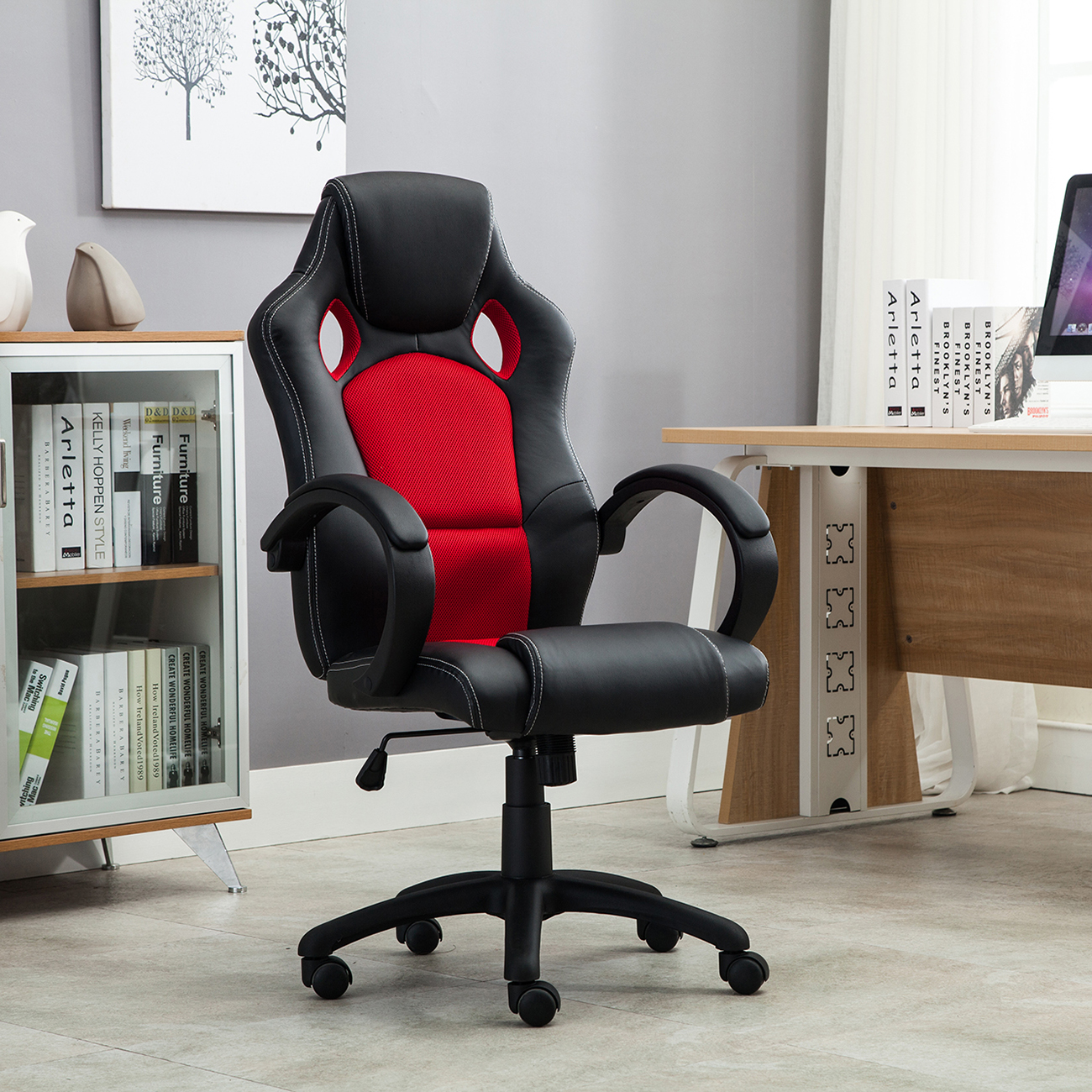 lofty desk executive leather decoration bucket office design chair style racing seat beautiful cryomatsorg sporty car pu new