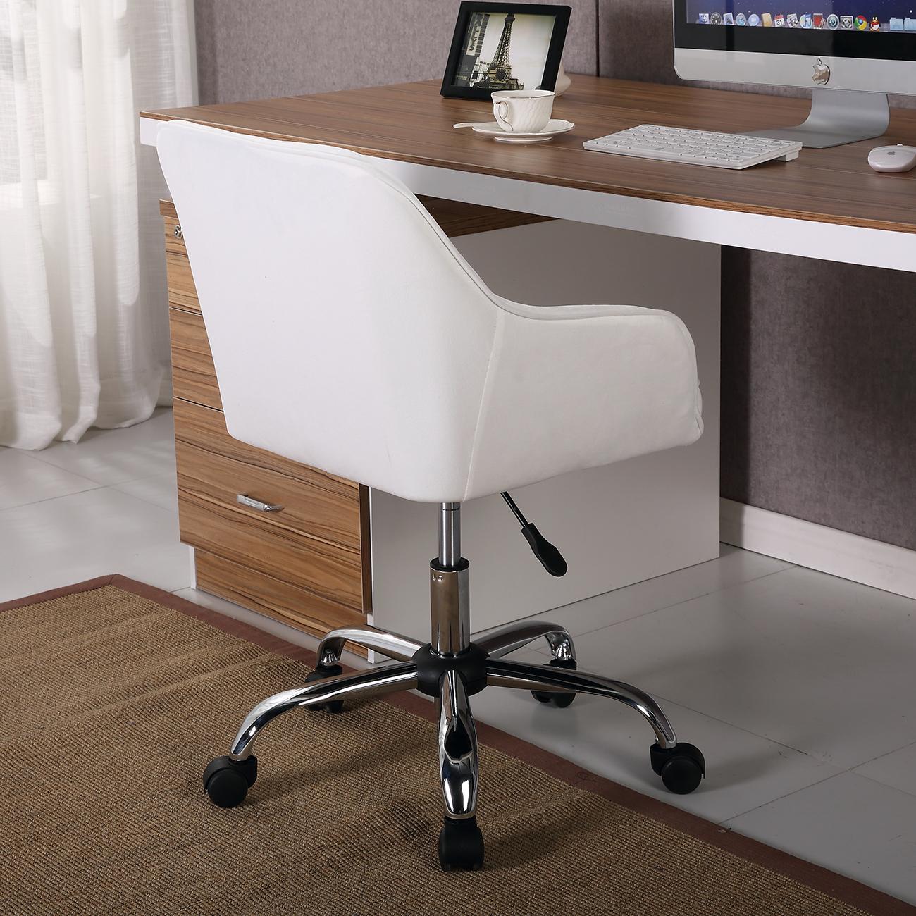 Modern Office Chair Task Desk Adjustable Swivel Height W