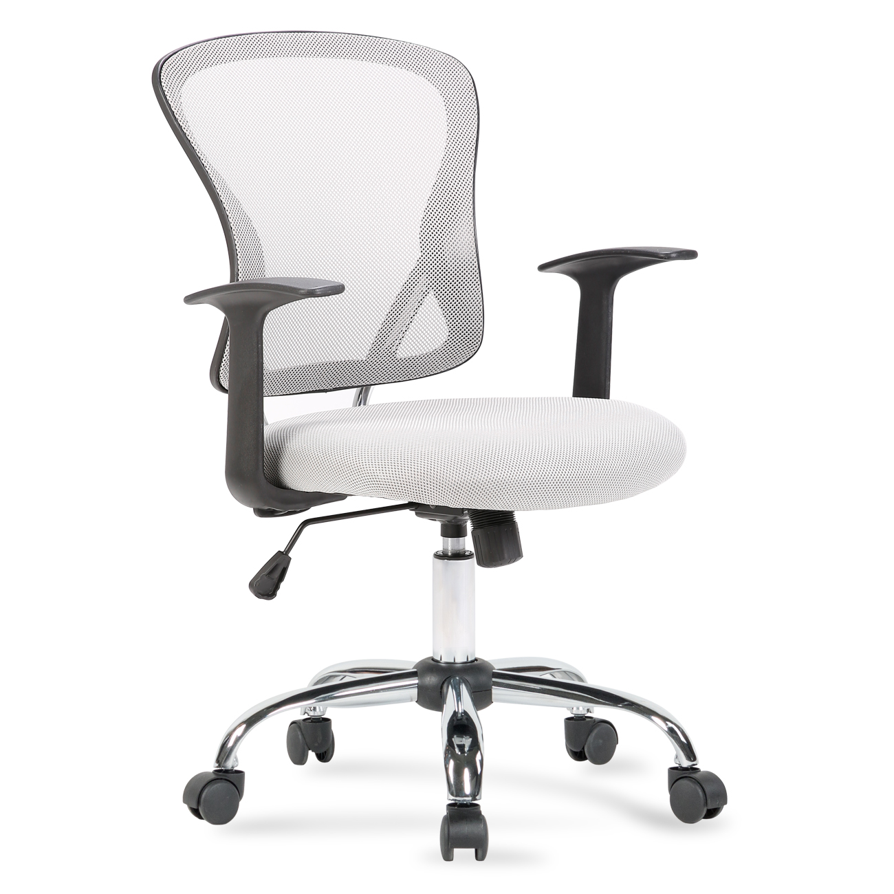 Details About New Ergonomic Midback Swivel Mesh Task Computer Office Chair Desk Seat Gray