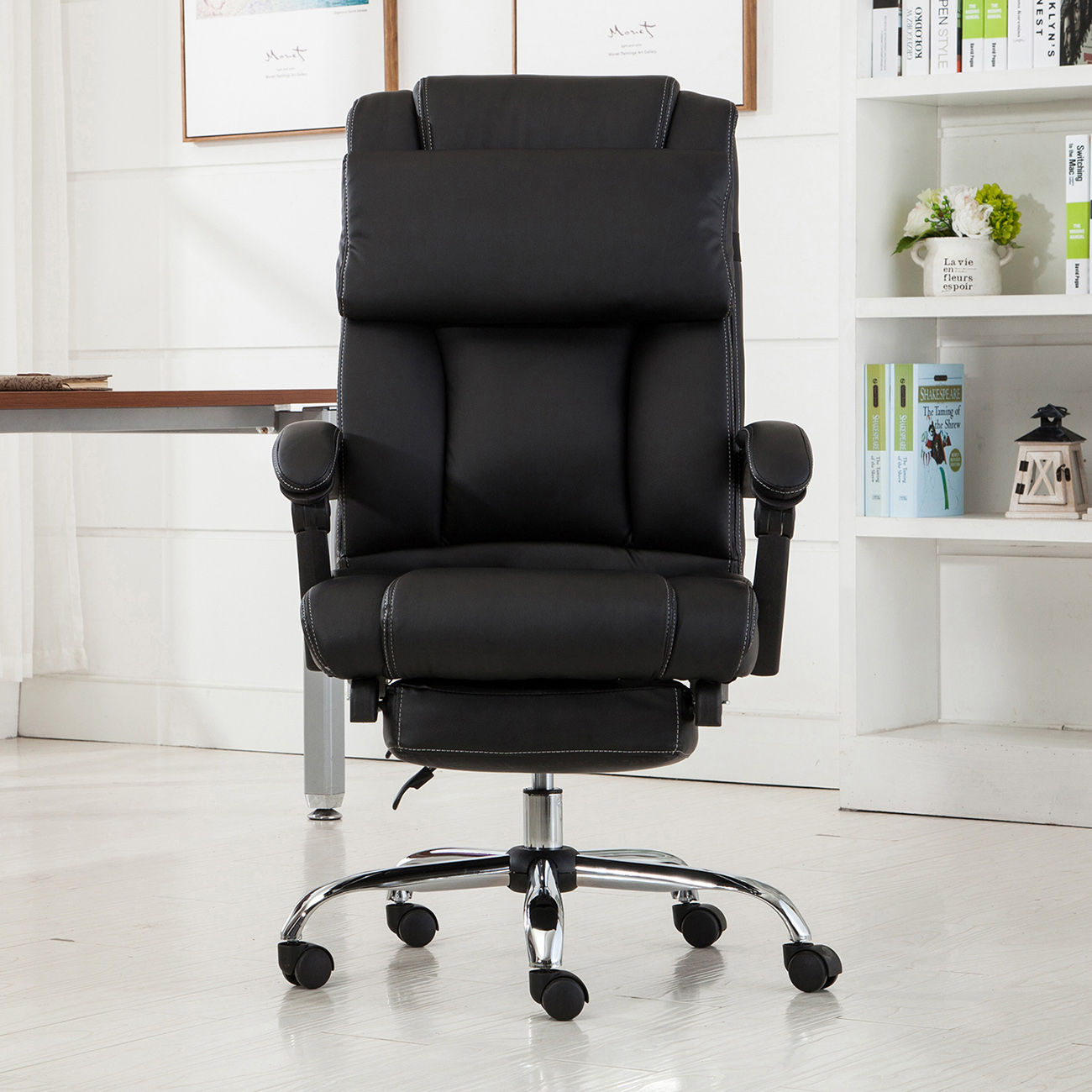 Executive Reclining Office Chair Ergonomic High Back ...