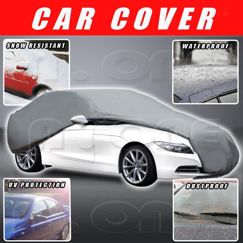 for multi layer outdoor indoor waterproof lining car suv cover warranty ebay. Black Bedroom Furniture Sets. Home Design Ideas