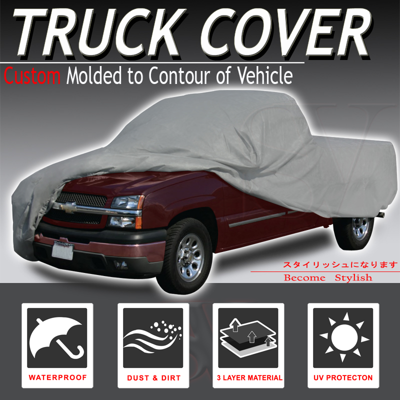 2002 2003 2004 Dodge Ram 1500 Quad Cab 8ft Long bed Waterproof Truck Cover
