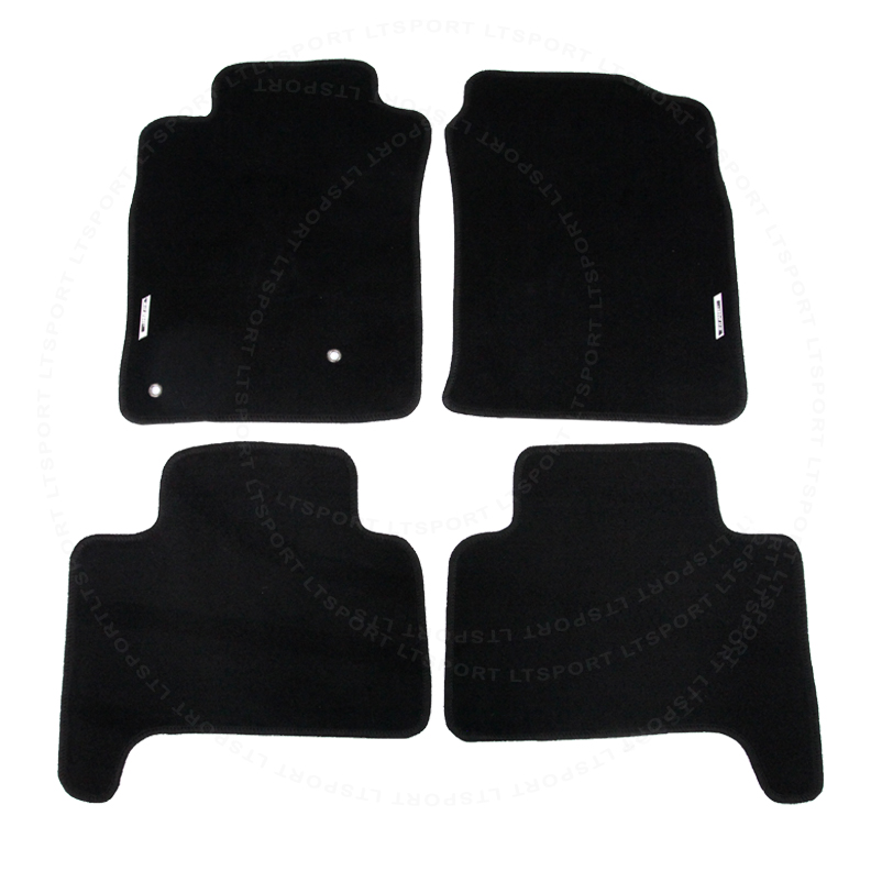 For 03-09 Lexus GX470 Custom Fit Premium Nylon Black Floor Mats Carpet