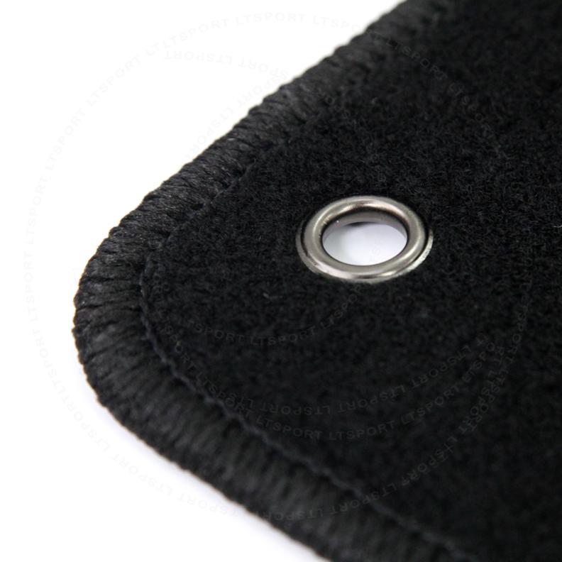 For 03-09 Lexus GX470 Custom Fit Premium Nylon Black Floor Mats Carpet