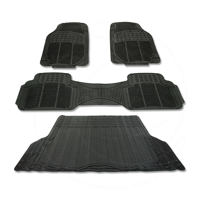 96-14 ACURA RL RUBBER BLACK CAR FLOOR & TRUNK MAT WATER
