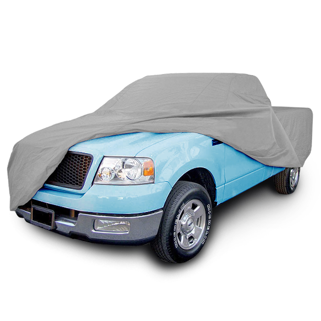 LT-Shield Weather-Waterproof 8' Ft Car Cover 4-Layers 1pc