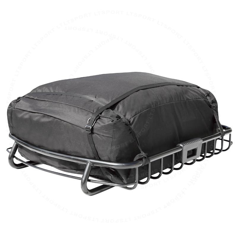 LT Sport® Brand TOP ROOF BASKET + WATERPROOF BAG CARRIER