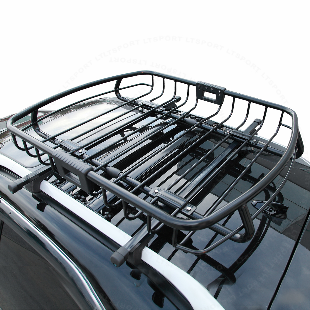 Fit 92 04 Mitsubishi Rooftop Roof Rack Cargo Luggage Carrier Basket Replacement For Automobile