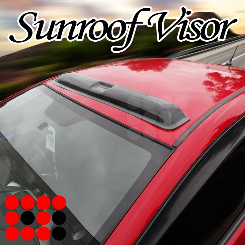 "Moon Sun Roof Top 42/"" Visor//Wind Rain Guard Deflector Replacement For"