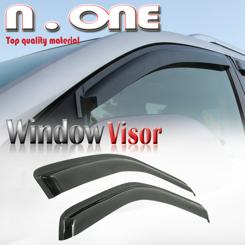 Sun Roof Side Window Visor Wind Rain Deflector Set Fit