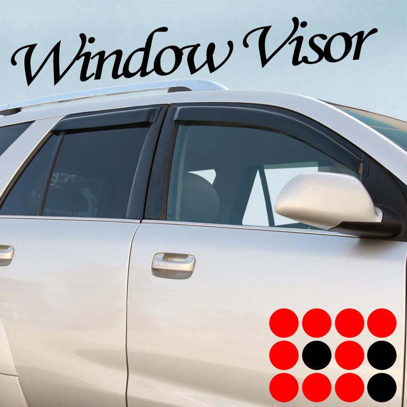 Window Visor Guard Vent Tape-OnStyle for Nissan Rogue 4-Door 2009 2010 2011 2012