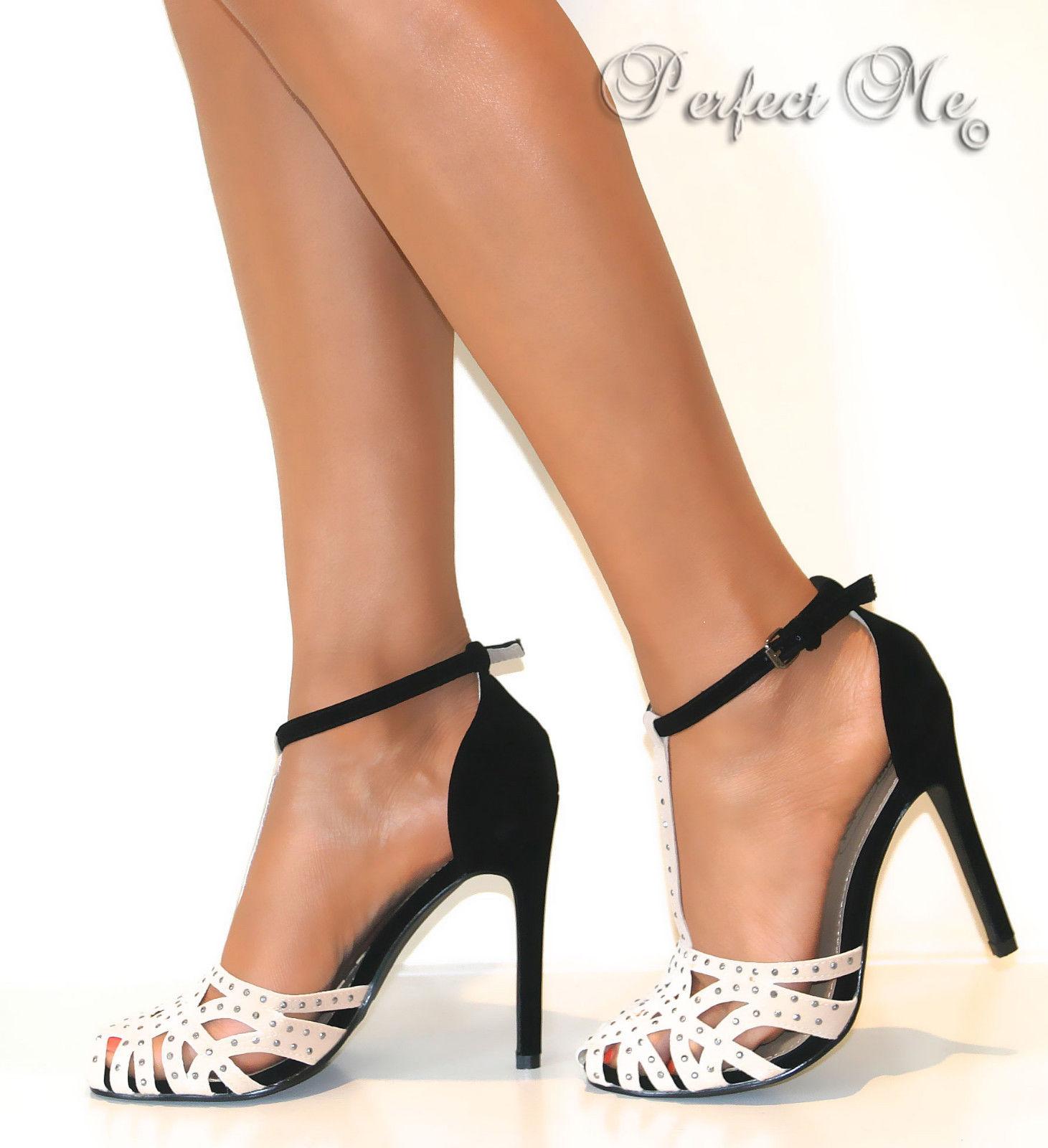 Carvela black strap heels size 41 - 1 part 1