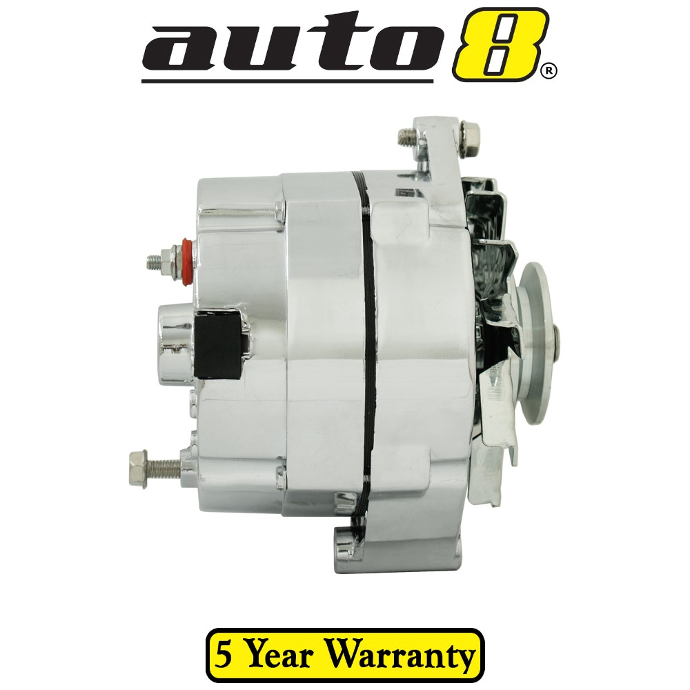 Brand New Chrome Alternator suits Holden Monaro HQ 5.7L 350 V8 1971-1974