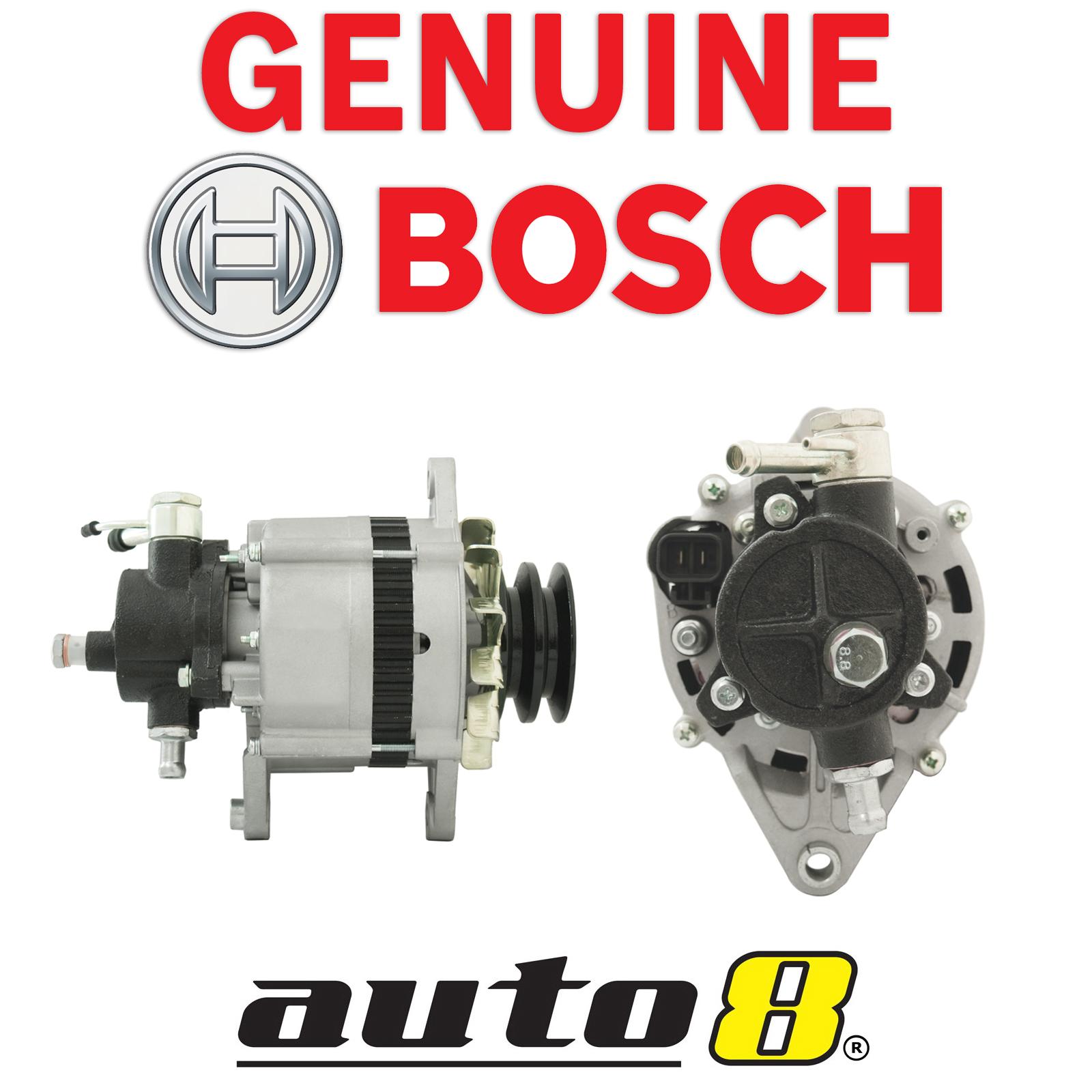 Details about Genuine Bosch Alternator fits Nissan Urvan E24 Diesel 2 7L  TD27 1986 - 1993