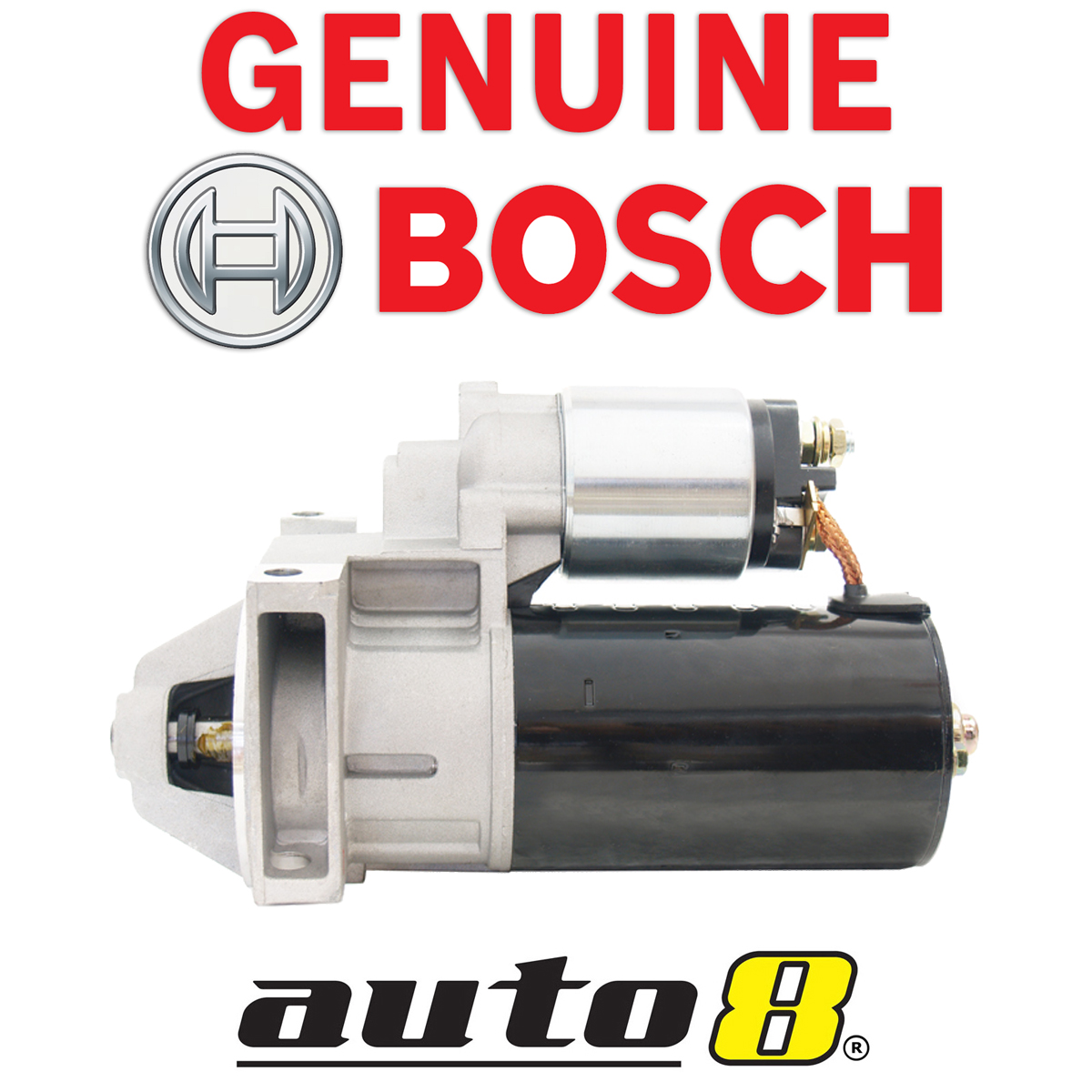 Bosch Starter Motor to fit Holden Maloo VS 5.0L Petrol LB9 (304) 1995 - 2000