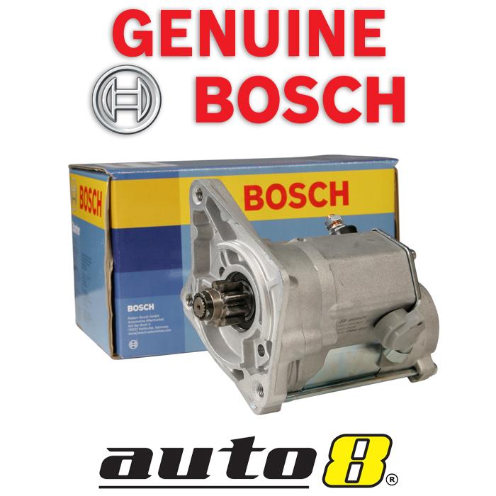 Details about Genuine Bosch Starter Motor fits Mazda BT-50 UN 2 5L Turbo  Diesel WLAT 2006-2011