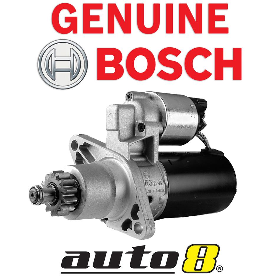 Genuine Bosch Starter Motor to Fit Toyota Tarago ACR30 ACR50 2.4L GSR50  3.5L V6