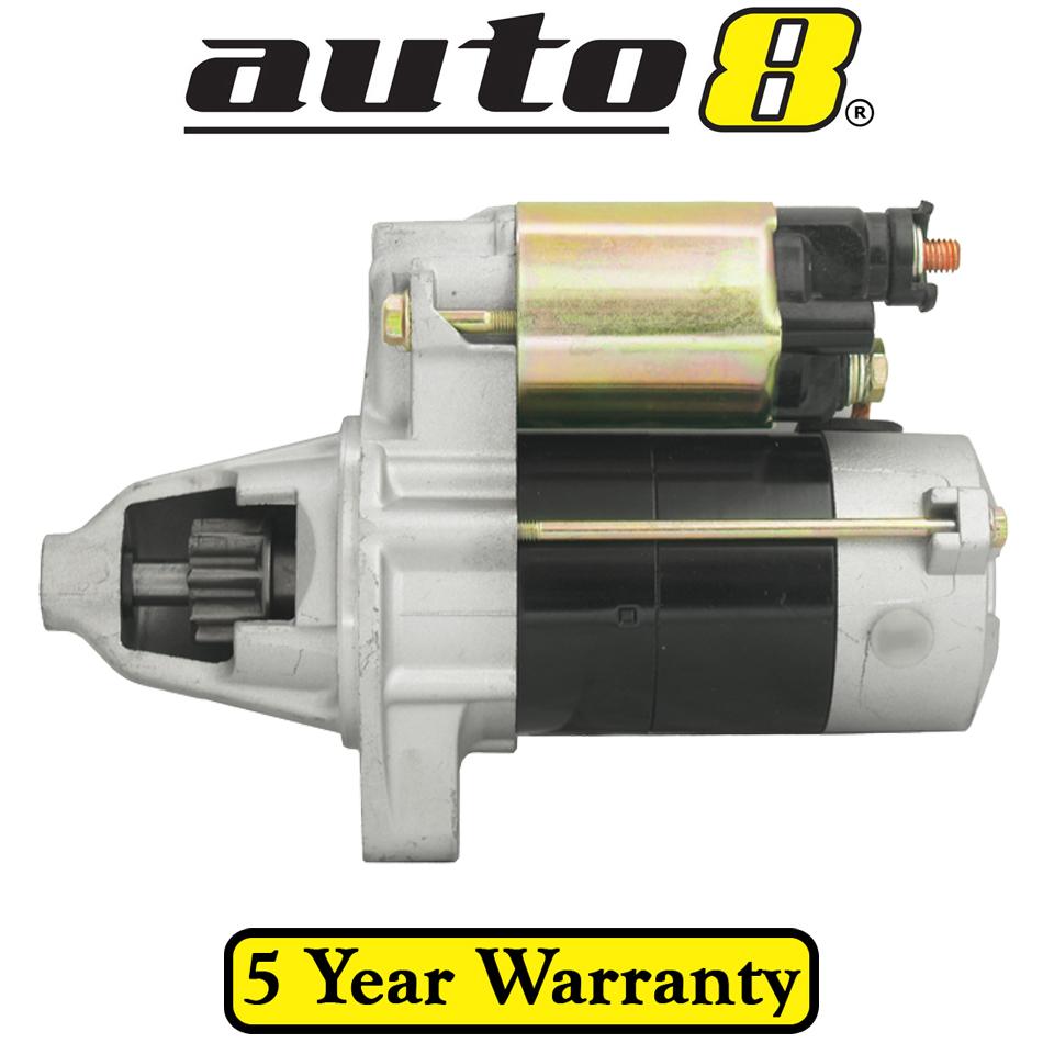New starter motor fits honda cr v rd manual trans 2 0l for Honda crv starter motor