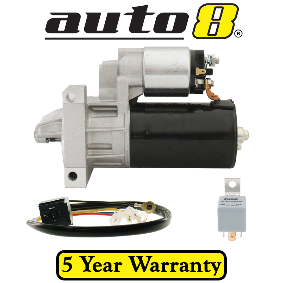 Starter Motor and Relay To Fit Holden HG HJ HQ HT HX HZ WB 253 308 ...