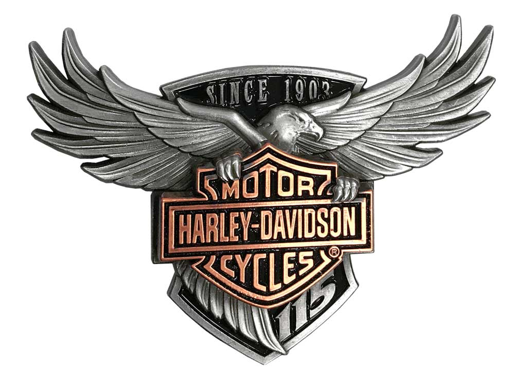 Harley Davidson 115th Anniversary Limited Collector Pin W