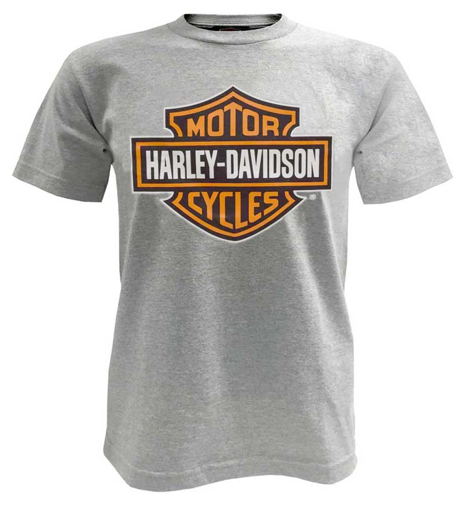 harley davidson men 39 s bar shield t shirt short sleeve. Black Bedroom Furniture Sets. Home Design Ideas