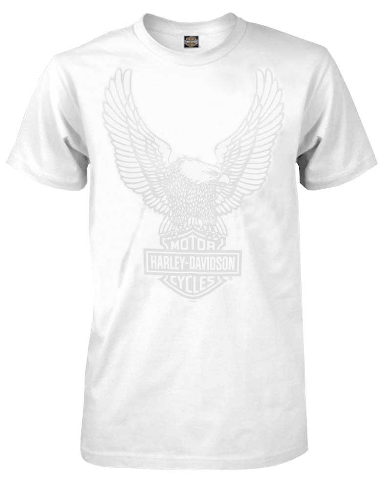 harley davidson men 39 s t shirt up swept eagle short sleeve. Black Bedroom Furniture Sets. Home Design Ideas