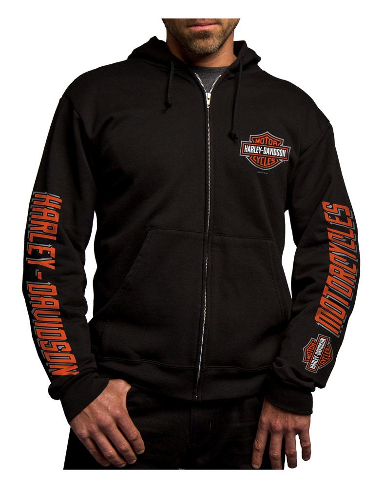 Harley-Davidson Men's Last Mile Bar & Shield Zip ...