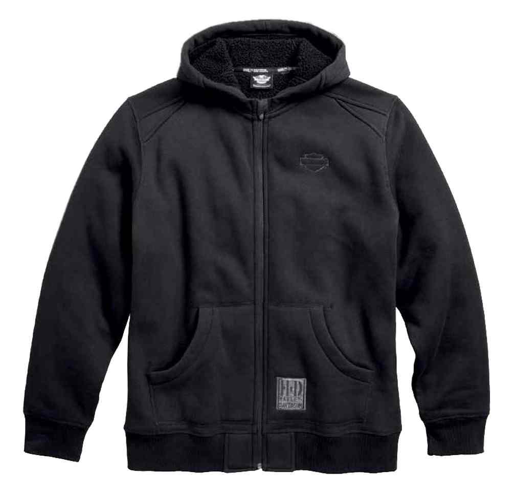 Mens black zip up hoodie