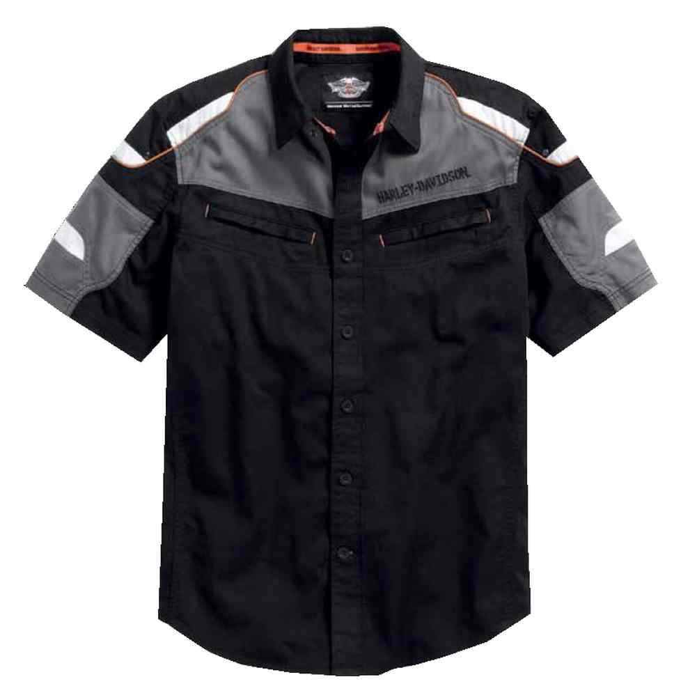 Harley Davidson Short Sleeve Button Down Shirts