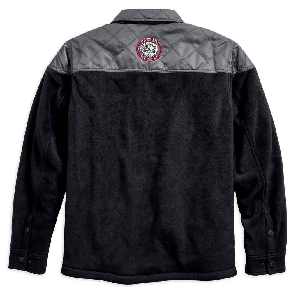96581-19VM Harley-Davidson Men/'s Quilted Casual Hybrid Shirt Jacket