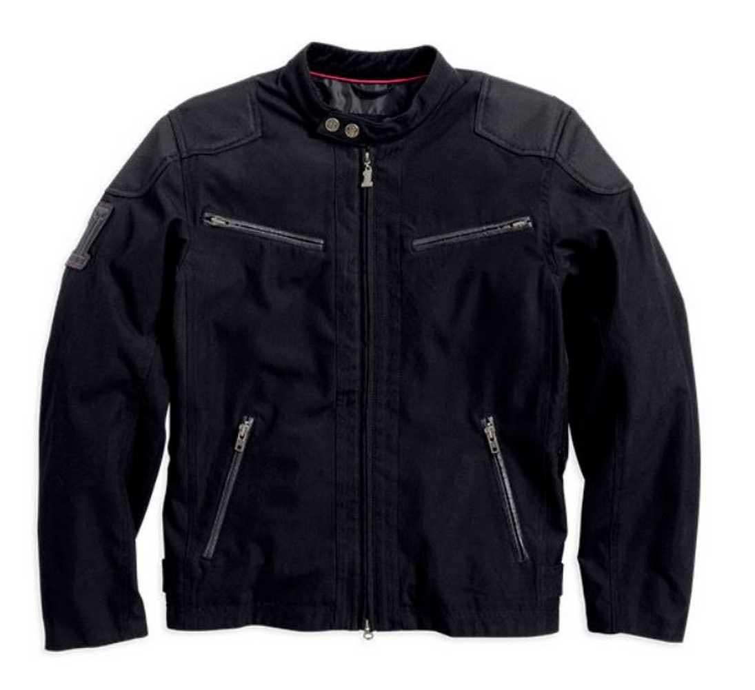 harley davidson men 39 s raven textile riding jacket 98553. Black Bedroom Furniture Sets. Home Design Ideas