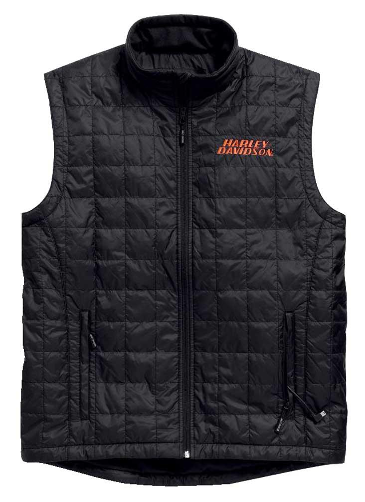 Harley Davidson Men S Stimulate Heated Vest Jacket W 7