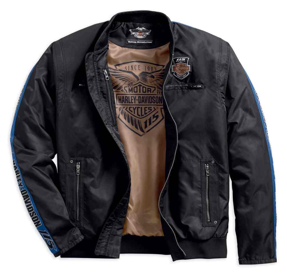Harley-Davidson Men's 115th Anniversary Nylon Bomber ...