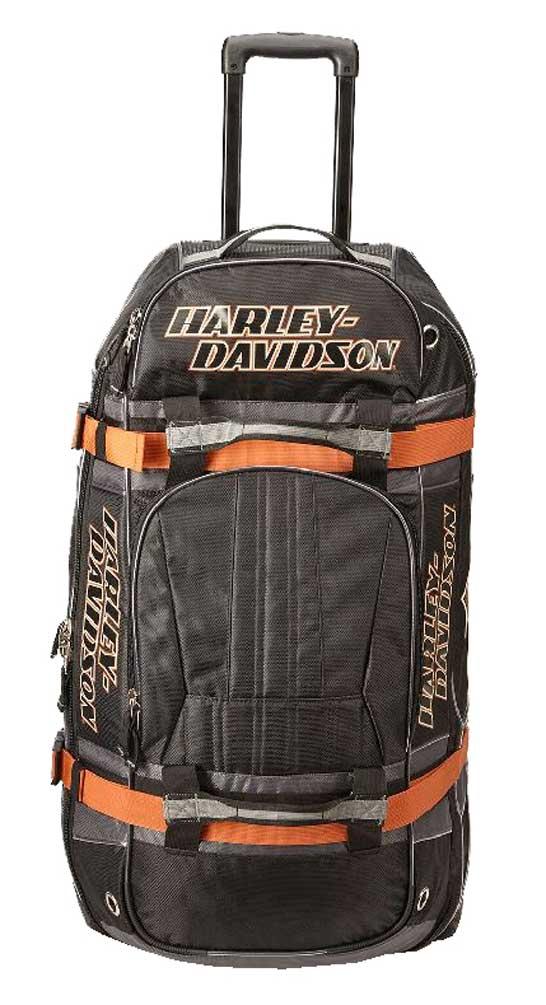 "harley-davidson bar & shield logo 33"" xlg wheeling duffel bag"