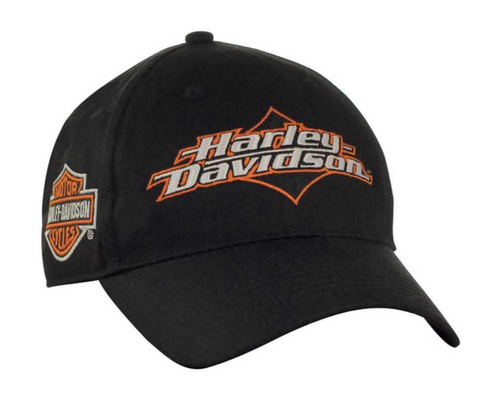 Harley-Davidson Men s Joy Ride Bar   Shield Baseball Cap - Black BC05230 1c800b4aa538