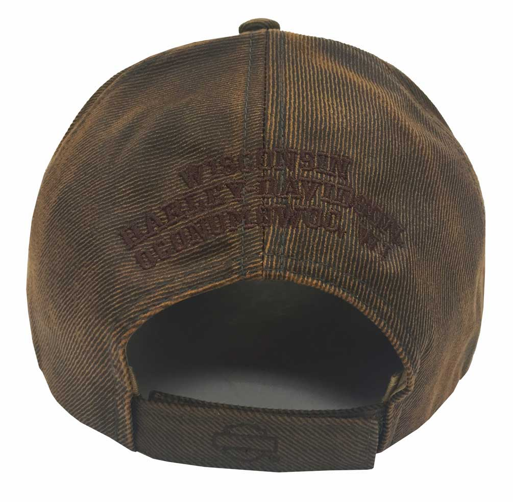 Details about Harley-Davidson Regal Brown Stone Washed Baseball Cap  Motorcycle Hat BC111439 00a54ad6054
