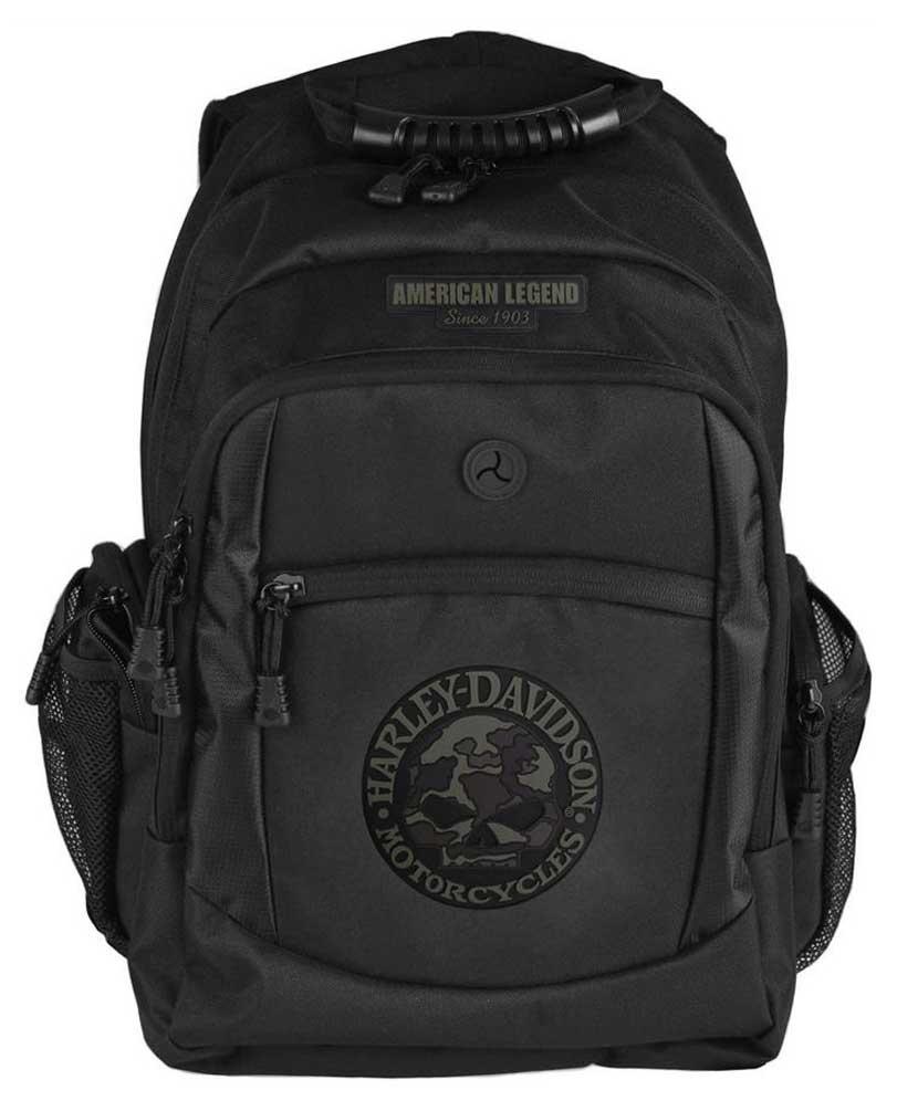 harley davidson 3d willie g skull classic camo backpack. Black Bedroom Furniture Sets. Home Design Ideas