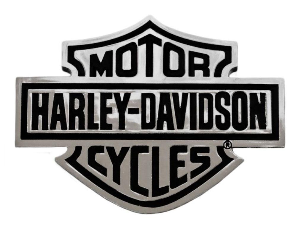 Harley Davidson Emblem: Harley-Davidson Bar & Shield Chrome Injection Molded