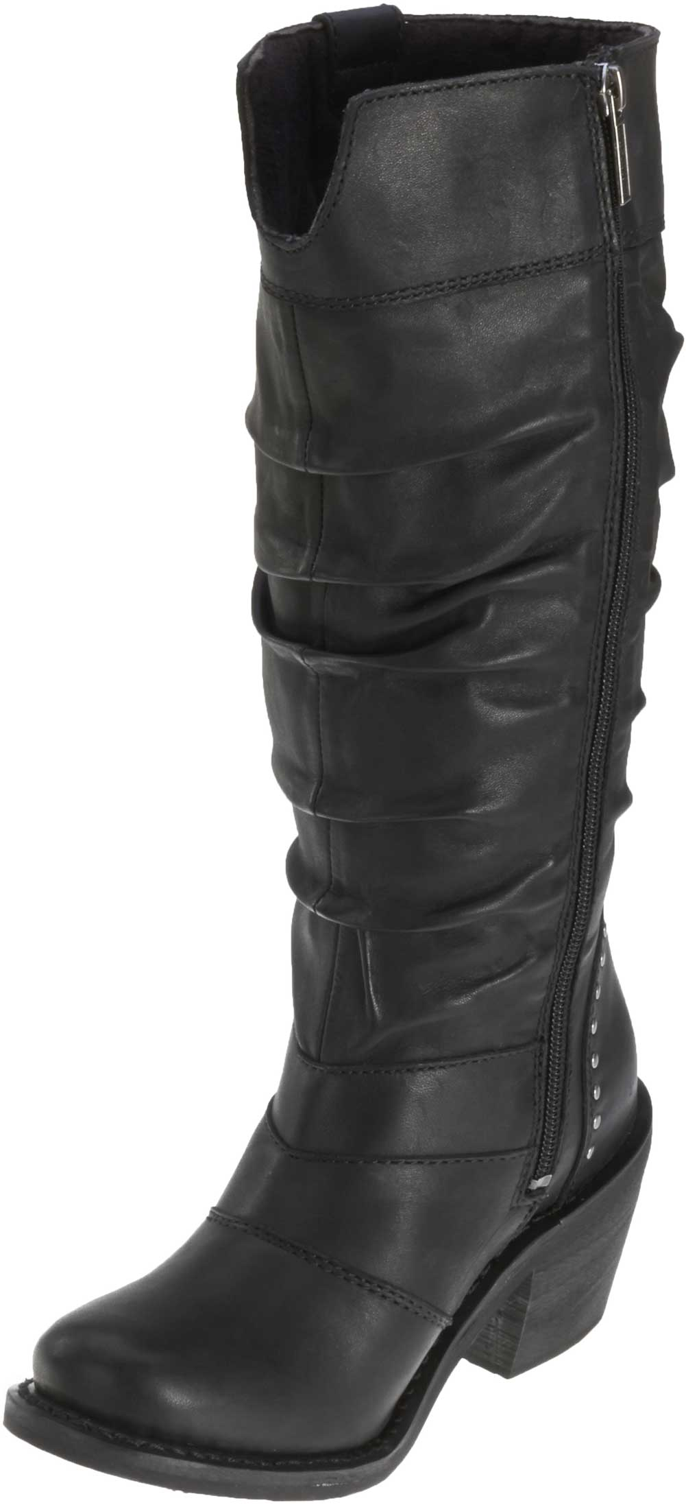 78cfe4fb2fc Harley-Davidson Women s Jana Black Boots. 13-Inch Shaft