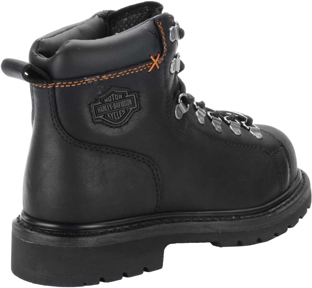 47e6d93b44c0 Harley-Davidson Women s Gabby 5-Inch Steel Toe Black Motorcycle Boots.  D83668