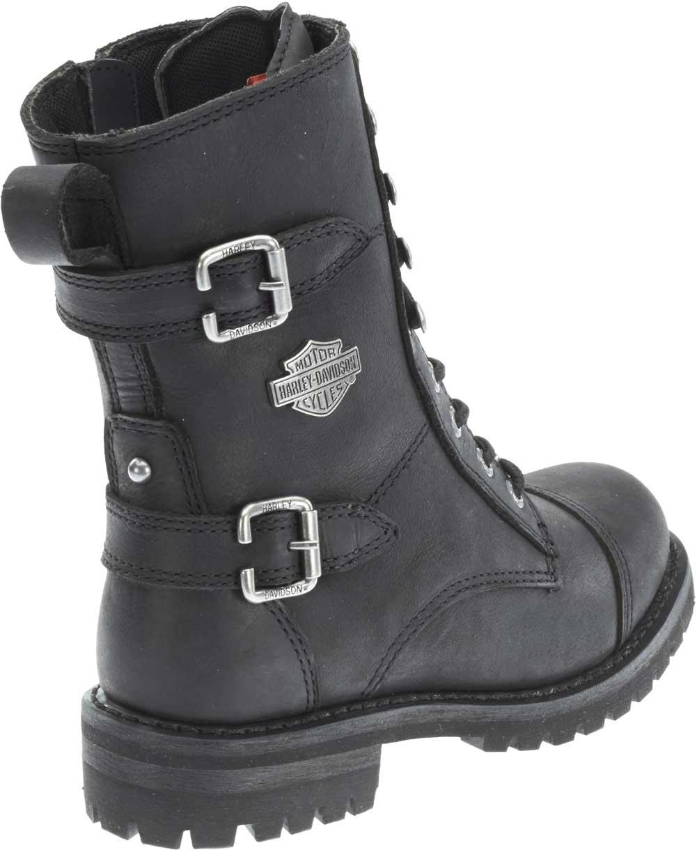 "Harley-Davidson Women's Balsa 7"" Motorcycle Boots. Blk ..."