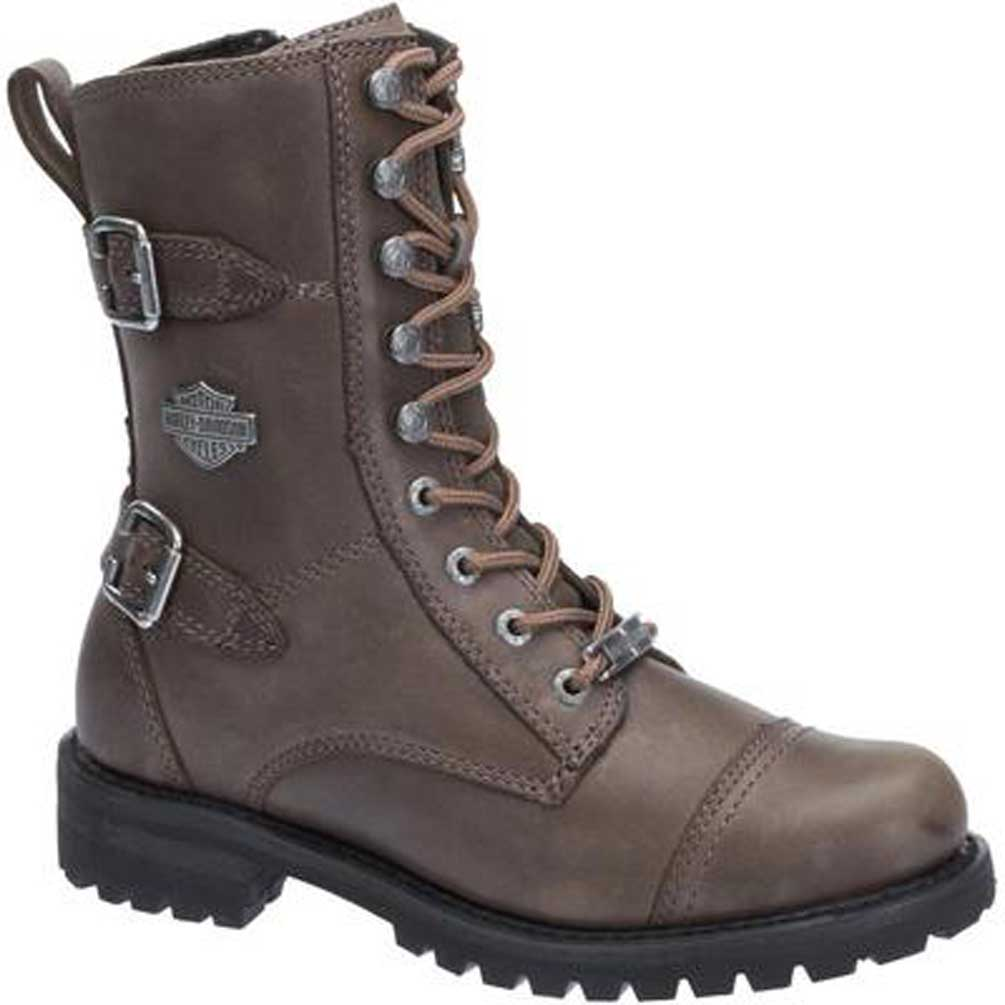 Original Icon 1000 El Bajo Womenu0026#39;s Motorcycle Boot - Oiled Brown
