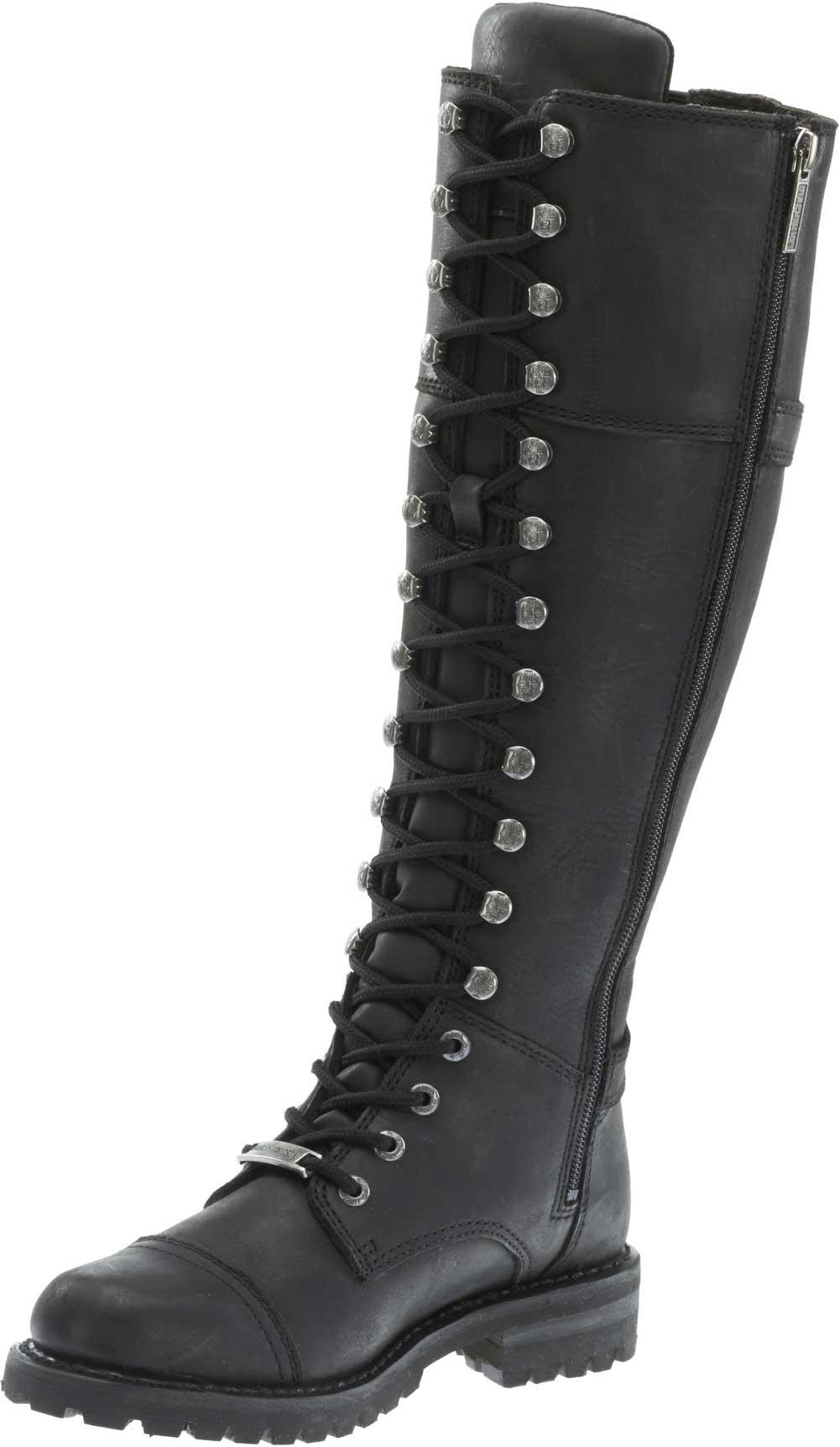 Harley Davidson D83858 Women's Stone Beechwood Knee High BOOTS ...