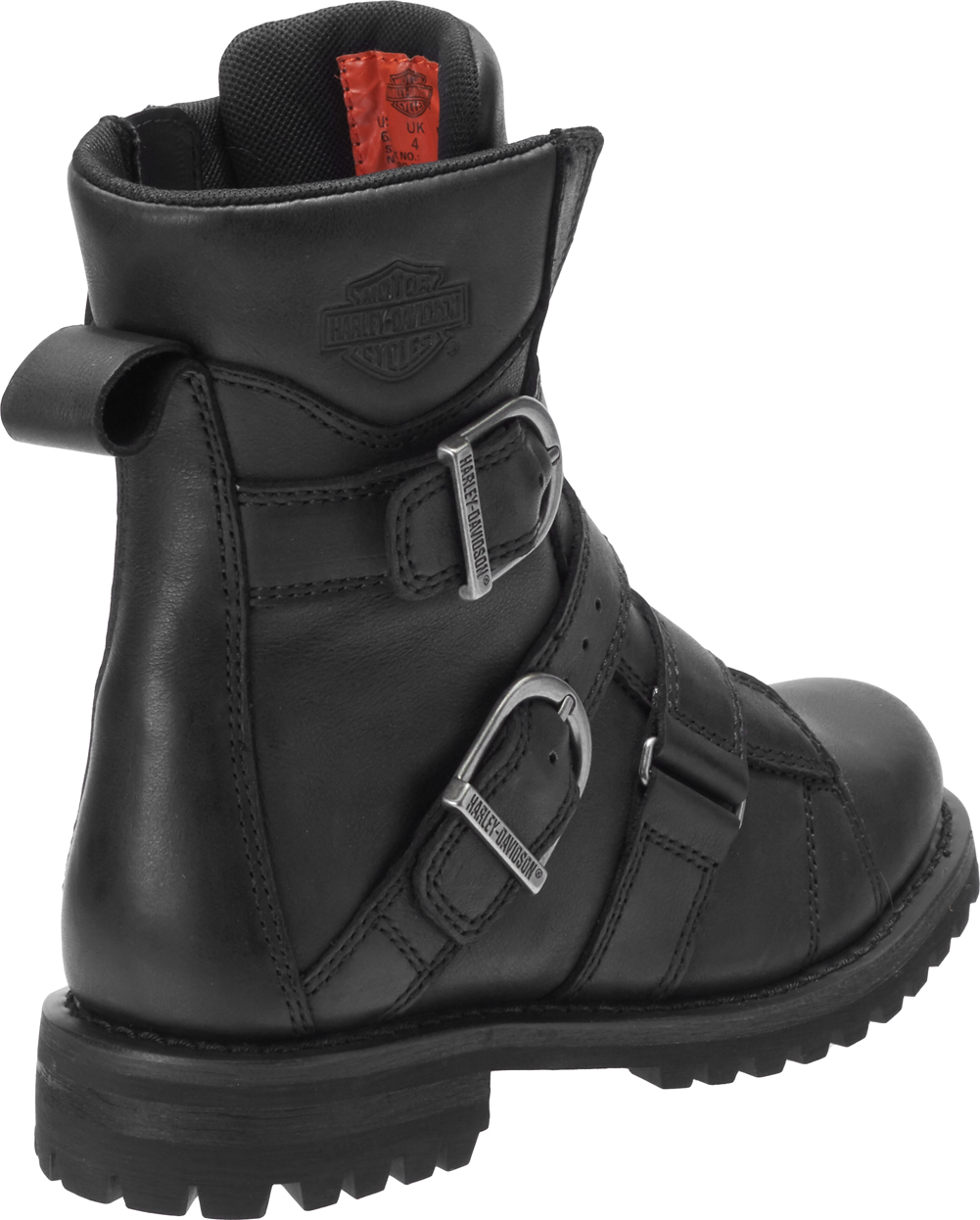 Harley-Davidson-Women-039-s-Hemford-6-75-Inch-Black-or-Brown-Motorcycle-Boots-D84470 thumbnail 7